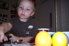 Nathan and his eggs