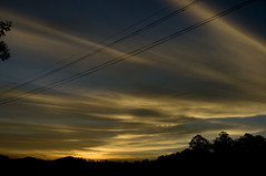 Crazy evening lights ... (onesmallvoice) Tags: sunset ooty goldensunsets