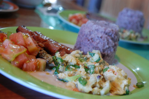 Breakfast at St. Joseph Cafe Sagada