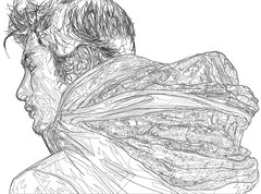 Yu Darvish Art Vector Lines (Mel Marcelo) Tags: portrait face japan grafx adobeillustrator baseballpitcher melmarcelo yudarvish japanesenpl vectorlineart meltendo mpyregraphics melitomarcelo