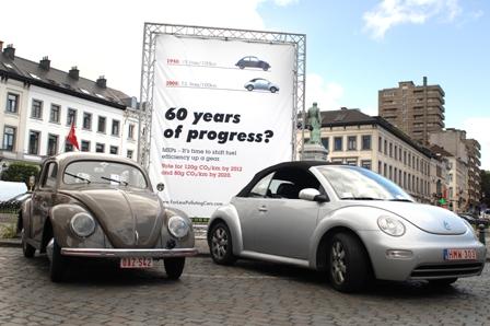 Alter und neuer Käfer