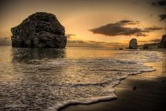 Marsden Rock at Sunrise