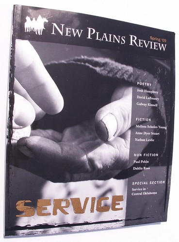 New Plains Review, Spring 2009