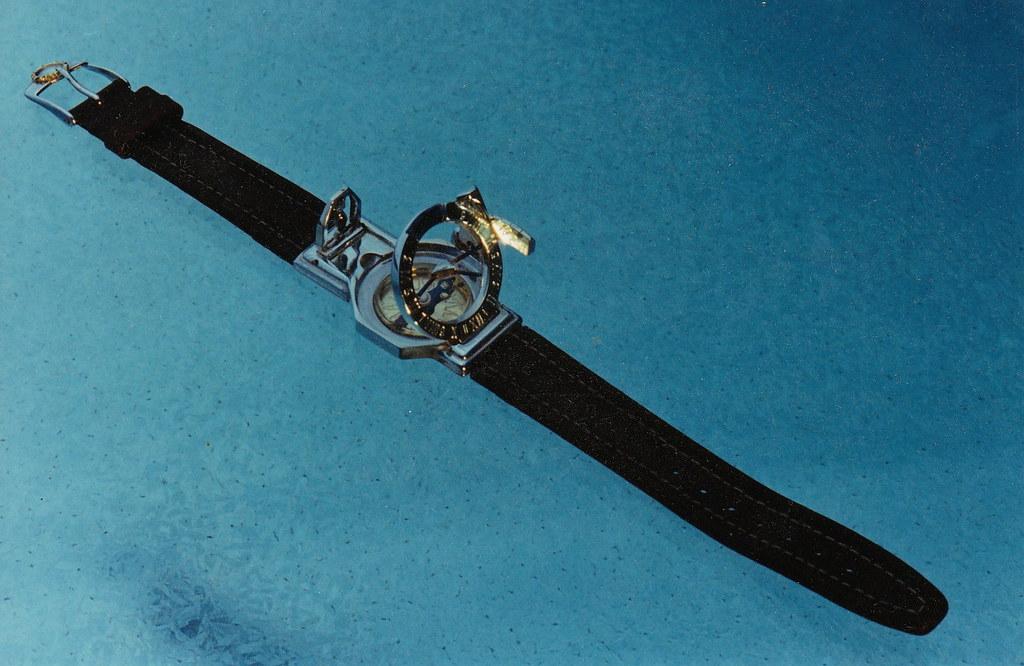 Wrist sundial