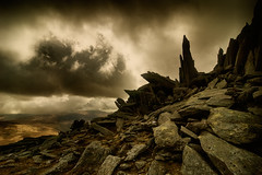 Castle of the Wind (Paul M. Robinson) Tags: mountain wales snowdonia glyders glyderfach glyderau castellygwynt castleofthewind takeaview landscapephotographeroftheyear