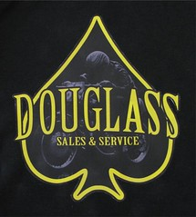 douglass sales and service (Jeep351c) Tags: vintage retro motorcycle spade