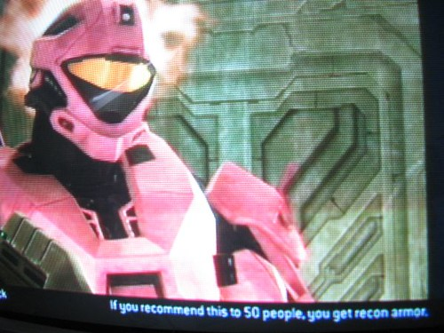 halo 3 how to get recon armor