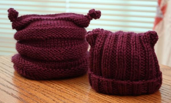 Preemie Hats for Lynn