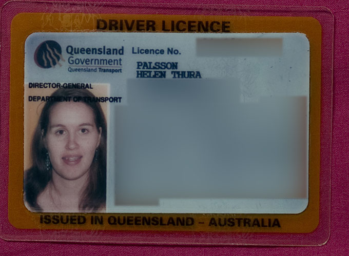 new drivers licence