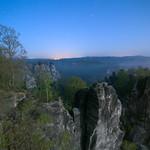 Moonlit Saxon Switzerland