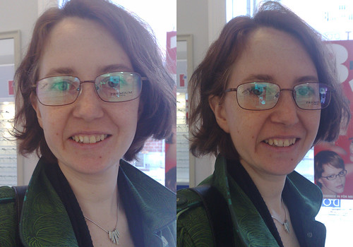 Help me pick my new glasses. These are No 3.