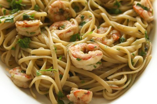 Linguine with Scampi