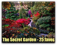 THE SECRET GARDEN 25 AWARD (by Claudio.Ar)