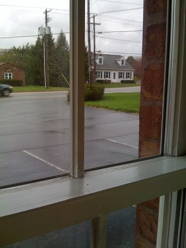 View from the Olde Amish Inn