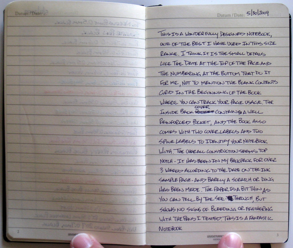 Leuchtturm Pocket Lined Journal