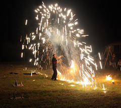 Pyro-Artist II (Peter Hauri) Tags: nightphotography nightshots firepainting