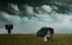 The Haunting (Leah Johnston) Tags: portrait woman selfportrait girl female umbrella self leah fineart angels haunting johnston demons selfportraitartist leahjohnson leahjohnston leahjohnstonphotography leahjohnsonphotography leahjohnstonphotos