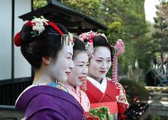 Maiko (jpellgen) Tags: japan japanese spring nikon kyoto asia arashiyama maiko geiko geisha  april nippon 1855mm nikkor  kansai 2009 nihon kinki honshu d40