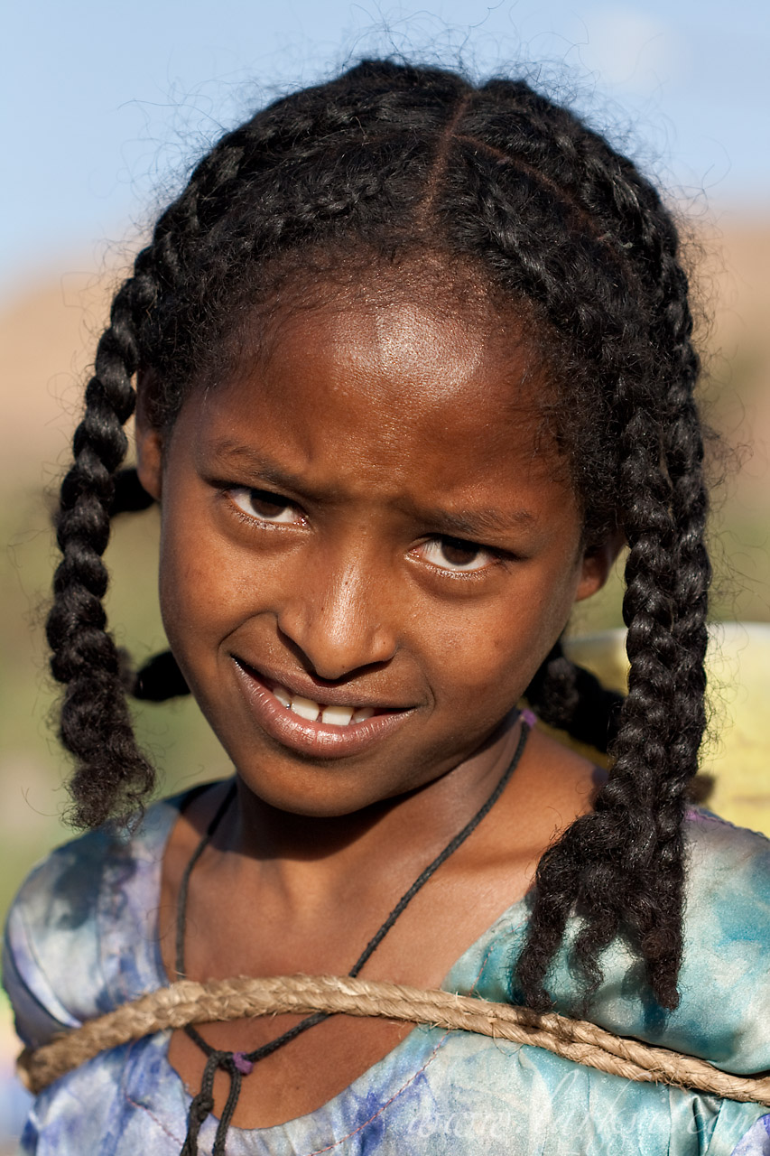Water-bearer #3, Axum, Tigray, Ethiopia, April 2009