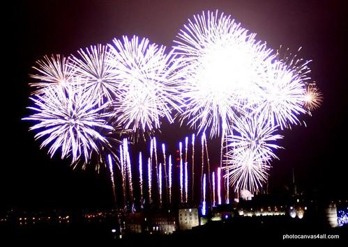 Fireworks @ Edinburgh Hogmanay