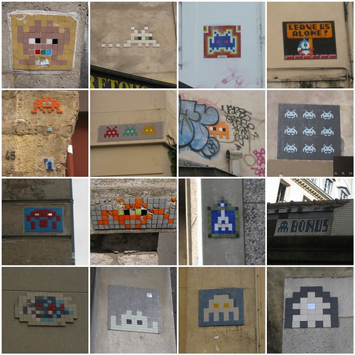 Paris space invaders | Flickr - Photo Sharing!