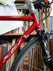 Restored Erba (jun.skywalker (enishi hand made cyclecap)) Tags: bike bicycle front erba restored cicli