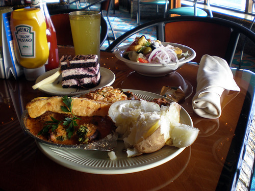 Carnival Elation - Lido Buffet - Lunch