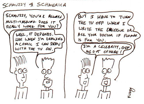 366 Cartoons - 134 - Schmuzzy and Schmerica