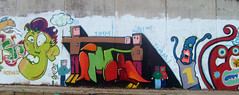 Graffiti 4 (Flurrilary) Tags: graffiti murales chieti sangiovanniteatino