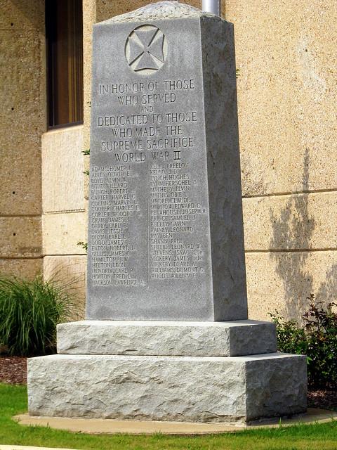 Wayne County WWII Monument
