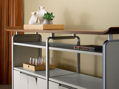teneo storage furniture by herman miller