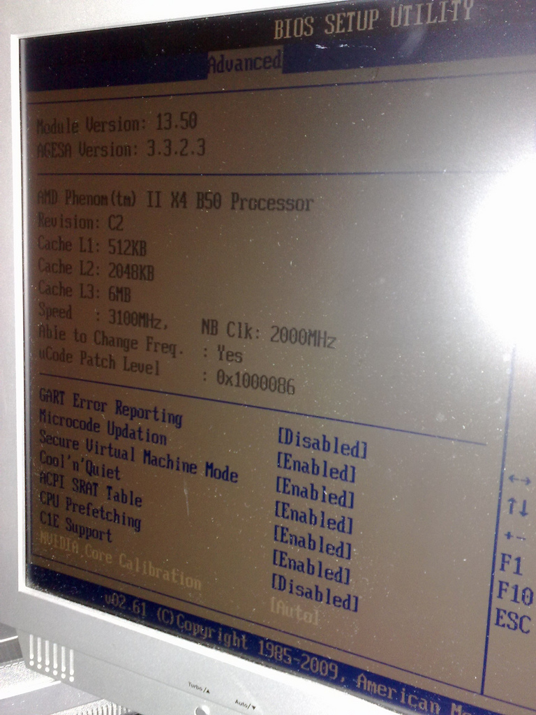 how to find out motherboard bios version