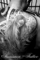Starasian Tattoo Art -Cover Demon Hannya Vs Goddess Davy 2 (starasian-tattoo) Tags: paris japan tattoo ink asian japanese star wings goddess vietnam cover demon tatoo thanh tatto japonais inked hannya tatouage irezumi dmon tatouages starasian