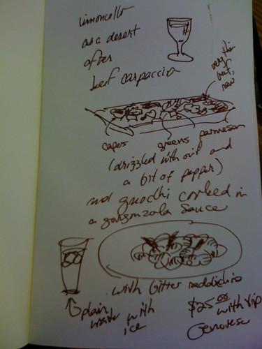 Dinner April 27, 2010