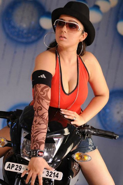 Sexy South actress Charmy Kaur stills