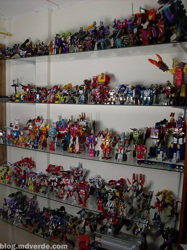 Mi colección de Transformers (02-May-2010) - Estante 1 - G1 - Classics - MP