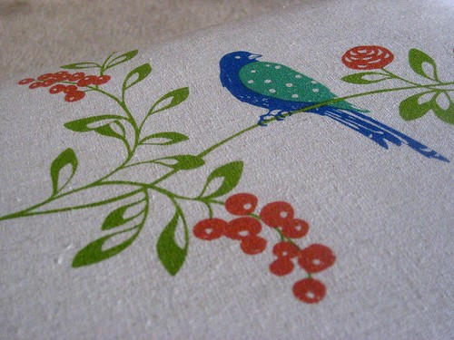 Fabric close up for chair...