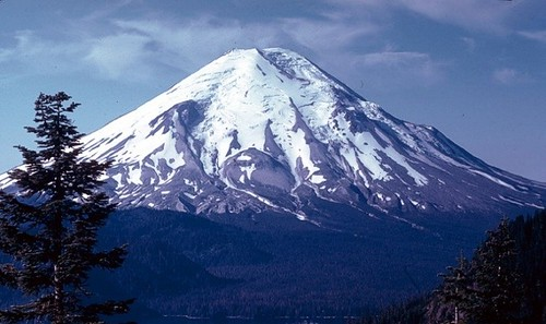 Mount St. Helens 1978 - before the eruption