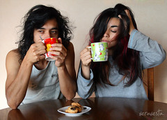 001/365 Breakfast  (veravesta) Tags: morning love maana breakfast amor dia 365 desayuno pijamas 365days 365project proyecto365 365dias