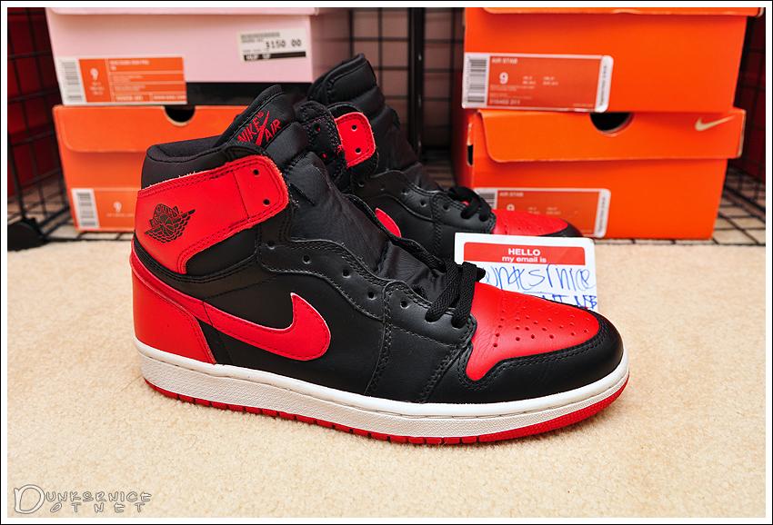 2001 Black/Red I's.
