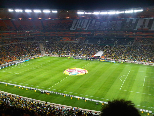 Bafana Bafana vs Columbia, Soccer City!