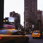 Flatiron Building at Rush Hour, New York City