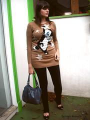 Look do dia: PussyFoot (Girafa Branca) Tags: moda melissa estilo inverno pussyfoot suter lookdodia girafabranca