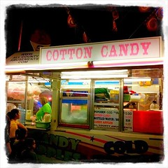 Cotton Candy (from this past weekend). I was never much into it myself.
