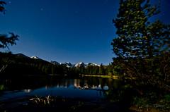DSC_4786 (levent_eryilmaz) Tags: sky lake mountains reflection night stars nationalpark nikon rockymountain waterreflection spraguelake d7000 nikond7000 leventeryilmaz