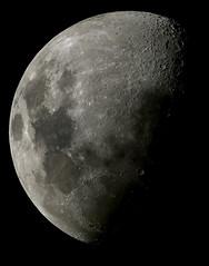 Jan 5 2009 moon mosaic (zAmb0ni) Tags: sky moon stars mosaic telescope astrophotography astronomy celestron