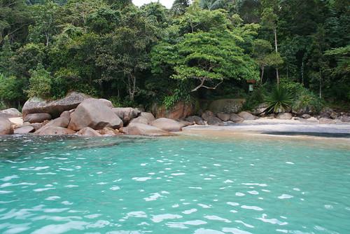 Praia do Caixadaço ilha grande paradisiaca agua cristalina angra dos reis rj brasil