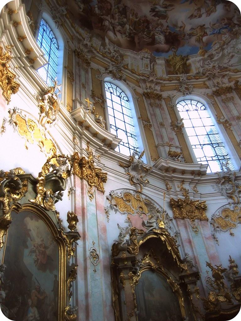 Interior Monastery Ettal