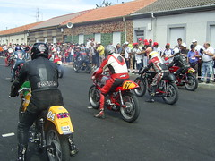 Motos clásicas en La Bañeza