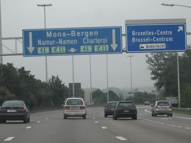 Autopista belga